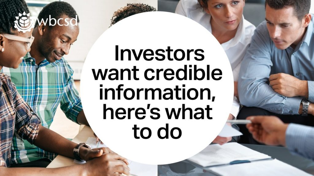 """New insights into """"what investors want"""" with respect to non"""
